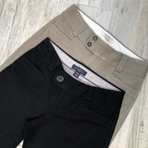 Banana Republic Bundle Black Khaki Work Slacks